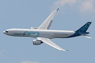 Airbus A330neo Wide-body jet airliner developed from Airbus A330