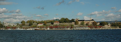 Akershus fortress seen from the west