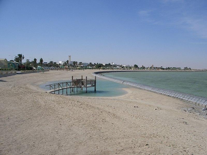 File:Al Khor Beach.jpg