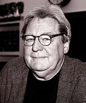 Sepiatone picture of Alan Parker.