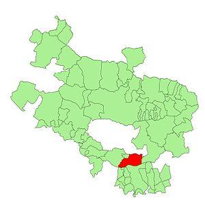 Lagrán - Location