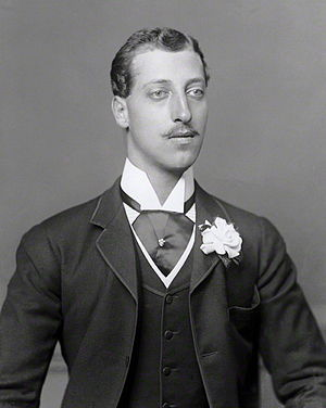 Hugh Evan-Thomas - Prince Albert Victor c.1885