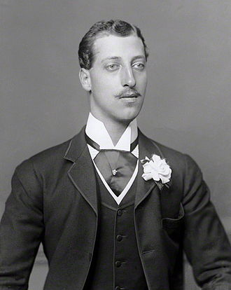 Prince Albert Victor, Duke of Clarence and Avondale - Albert Victor photographed by Bassano, c. 1888