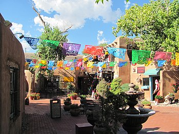Old Town Santa Fe >> Albuquerque – Travel guide at Wikivoyage