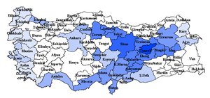 Tunceli Province - Tunceli is the only province of Turkey with an Alevi majority.