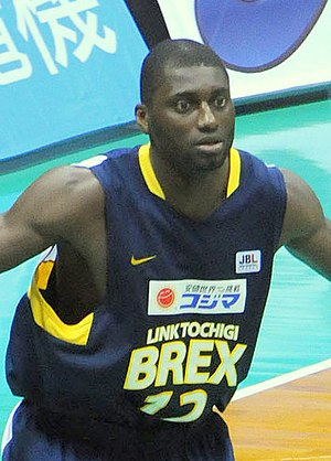 Alfred Aboya - Aboya with Link Tochigi Brex in Japan in 2010.