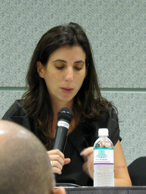 Aline Brosh McKenna - McKenna at the 2008 Screenwriting Expo in the Los Angeles Convention Center