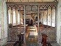All Saints Church, Edingthorpe, Norfolk, 14th-century chancel screen (author - Kolforn).jpg