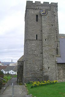 All Saints Church, Oystermouth church in Oystermouth, Swansea, Wales