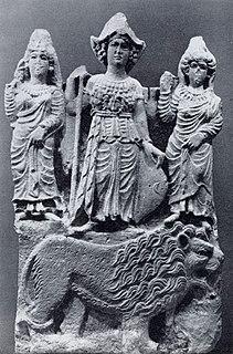 Pre-Islamic Arabian goddess