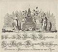 Allegorie op het overlijden van Hendrik Hooft Danielsz. 1794 Ter Gedagtenis van Den Vader des Vaderlands, Henrik Hooft Danielsz. Burgemeester Der Stad Amsterdam, Overleeden den 31 Augustus 1794 (..) (titel op object), RP-P-OB-86.346.jpg