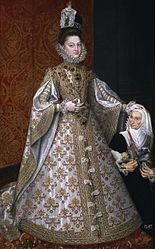 Alonso Sánchez Coello: The Infanta Isabel Clara Eugenia and Magdalena Ruiz