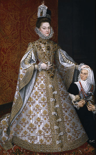 Ruled Britannia - Isabella Clara Eugenia, in this history the Spanish-imposed Queen of England