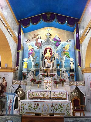 Basilica of Our Lady of Snows, Thoothukudi - Altar - Our Lady Of Snows Church, Tuticorin, Tamil Nadu, India