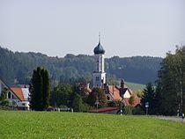 Altenmünster, A - Baiershofer Str - Dorfmitte v W.JPG