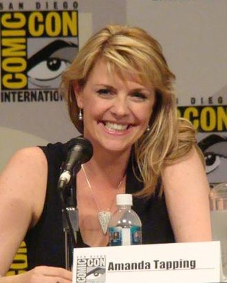 Amanda Tapping - Tapping at Comic Con 2007 in San Diego