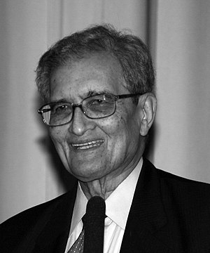 Amartya Sen, Indian economist, philosopher, an...