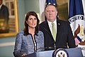 Ambassador Haley Delivers Remarks to the Press on the UN Human Rights Council (29036190228).jpg