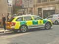 Ambulance, Wormald Row, Leeds (31st May 2018).jpg