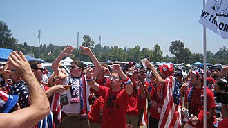 The American Outlaws - Image: American Outlaws Tailgate Gold Cup 2011