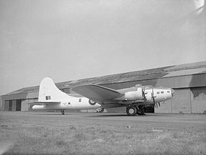 American Aircraft in Royal Air Force Service 1939-1945- Boeing Model 299 Fortress. CH6885.jpg