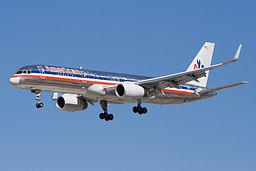 American Airlines Boeing 757-200 N605AA SJC