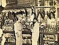 American GI at a shop in New Market, Calcutta in 1945.jpg