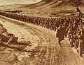 American troops walking along a road during World War I.JPG