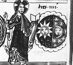 Solar symbol - Image: Amiens Lescalopier 30 10v detail 2