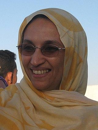 Aminatou Haidar Sahrawi political activist