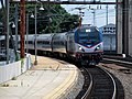 Amtrak 600 on southbound Silver Star at Wilmington.JPG