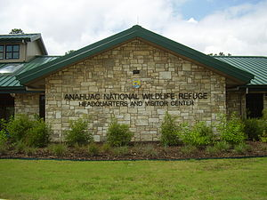 Anahuac National Wildlife Refuge - Headquarters