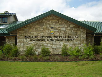 Anahuac National Wildlife Refuge - Headquarters