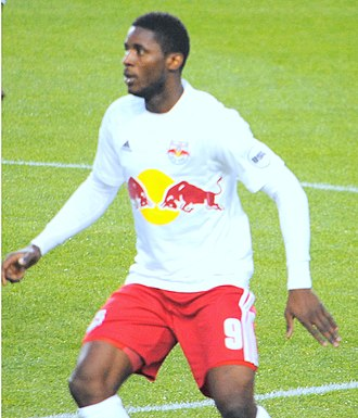 Anatole Abang - Abang playing for New York Red Bulls in 2015