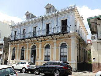Pointe-à-Pitre - Former town hall of Pointe-à-Pitre.