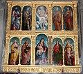 Andrea previtali, agostino facheris e altri aiuti, polittico, 1525, 01.JPG