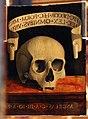 Andrea previtali detto cordeliaghi, ritratto d'uomo e memento mori, 1502 ca. (bergamo) 02.JPG