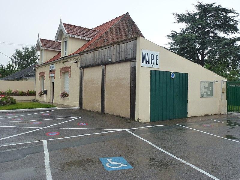 Andres (Pas-de-Calais) mairie