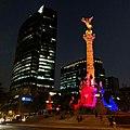 Angel de la Independencia. MX. @cmendozaphoto . . . . . -angel -citylights -streetnight -cdmx -iphone8plus (27924157488).jpg