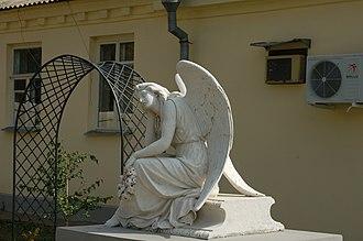 Taganrog Museum of Art - Image: Angel monument Taganrog Museum of Art