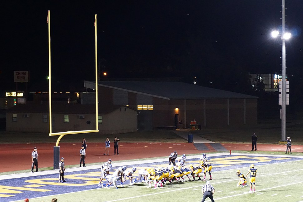 Angelo State vs. Texas A&M–Commerce football 2015 22 (A&M–Commerce field goal)