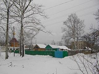 Aniva Town in Sakhalin Oblast, Russia