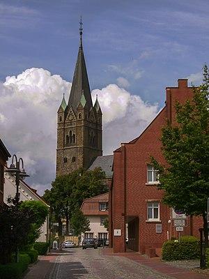 Ankum - Ankum, church: Artländer Dom