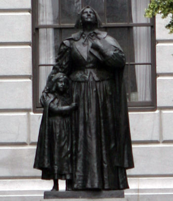 Statue of Anne Hutchinson