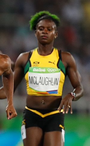 Anneisha McLaughlin-Whilby - McLaughlin-Whilby at the 2016 Olympics