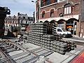Anzin & Valenciennes - Travaux de raccordement des lignes A & B du tramway de Valenciennes à la Croix d'Anzin le 13 août 2013 (40).JPG