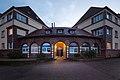 Apartment house Ahornstrasse 18 entrance Garkenburgstrasse Mittelfeld Hannover Germany 02.jpg