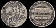 Apollo 13 Flown Silver Robbins Medallion (SN-354)