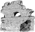 Aqueduc de Fréjus. Substructions à jour.png