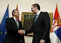 Arbeitsbesuch von Außenminister Spindelegger in Serbien (8231439091).jpg